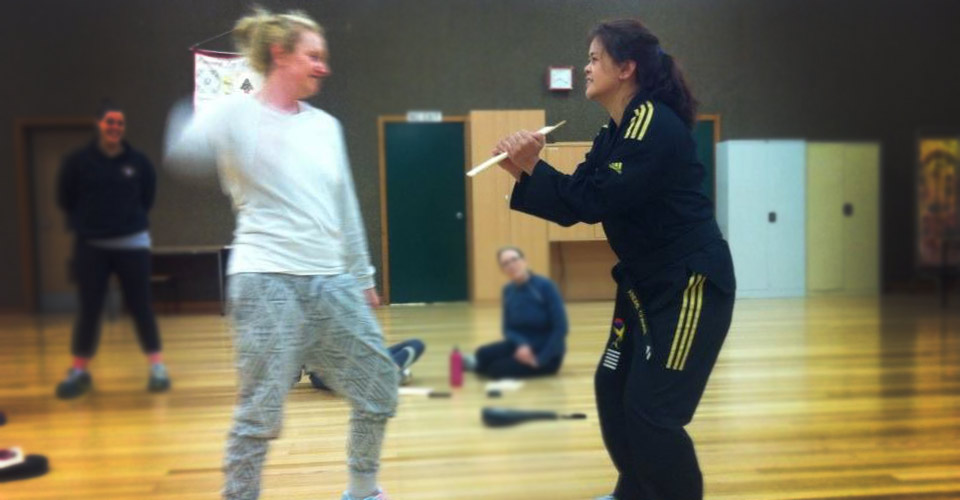 4 week self defence course ash