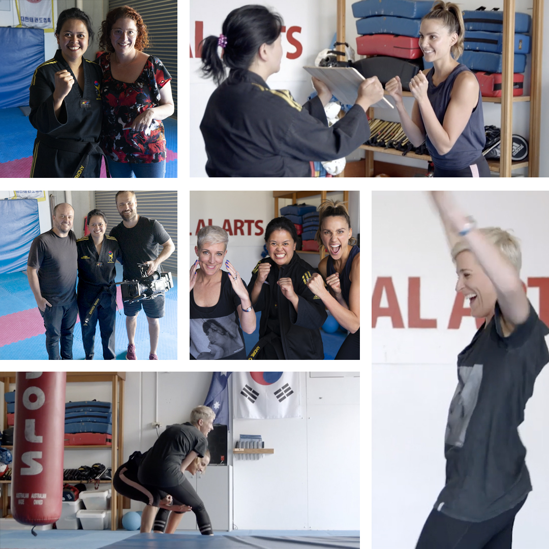 self defence hub house of wellness collage