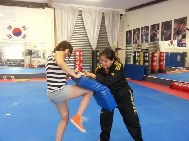 self defence for schools instructor