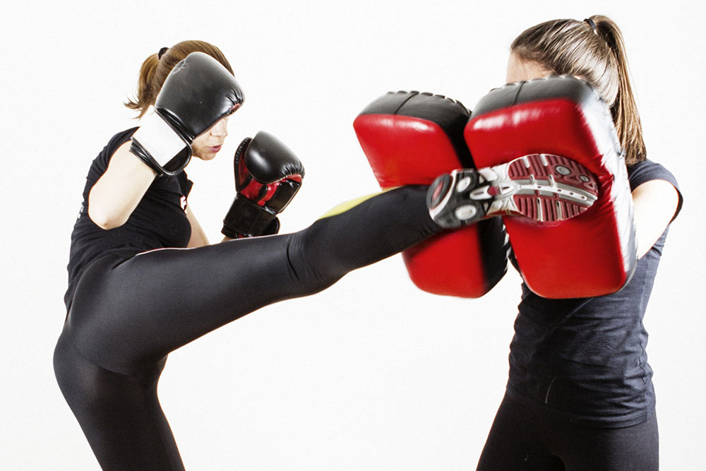 Kicking Pads for Private Self Defence Class Gift Certificate
