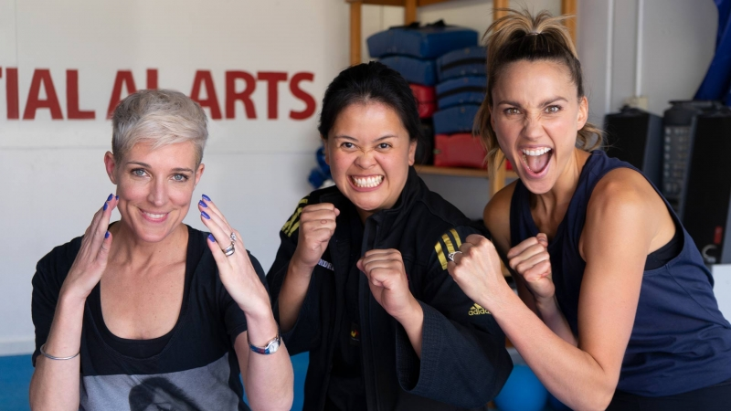 Self Defence with Jo Stanley & Rachael Finch from The House of Wellness