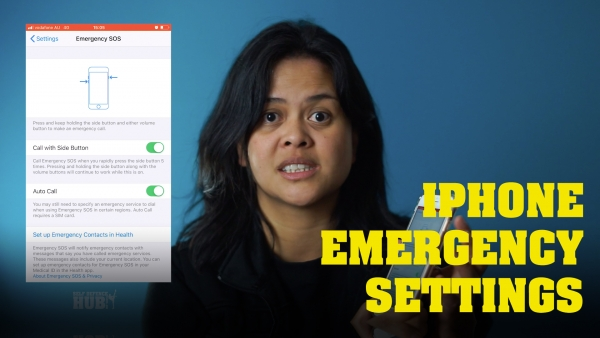 Set up your iPhone for emergencies correctly